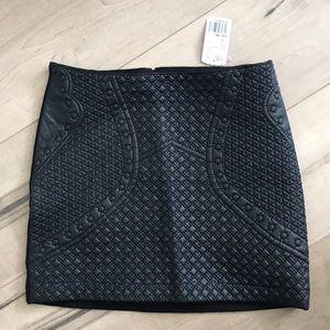 NWT Black mini skirt